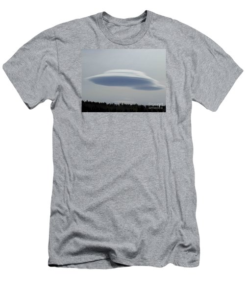 Mother Ship Men's T-Shirt (Slim Fit) by Fiona Kennard