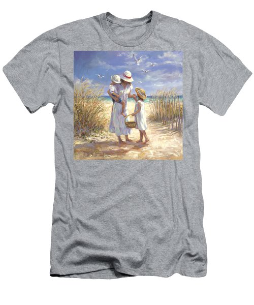 Mothers Day Beach Men's T-Shirt (Athletic Fit)