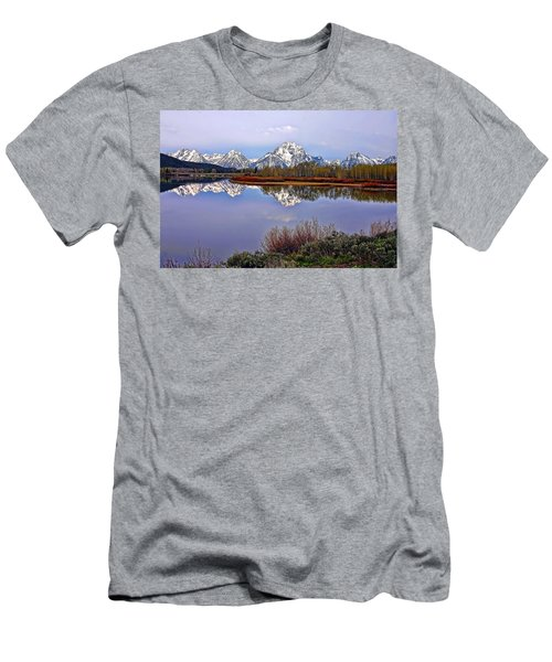 Mount Moran And Jackson Lake Men's T-Shirt (Athletic Fit)