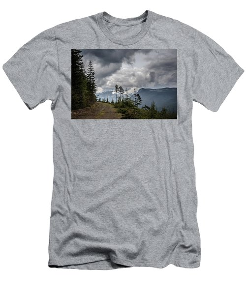 Mountain High Back Roads Men's T-Shirt (Athletic Fit)
