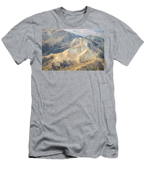 Men's T-Shirt (Slim Fit) featuring the photograph Mountain View 2 by Mark Greenberg
