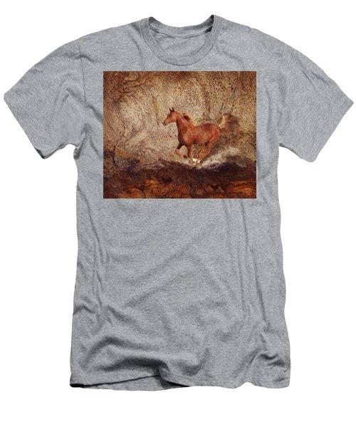Movin' On Men's T-Shirt (Slim Fit) by Melinda Hughes-Berland