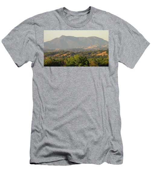 Men's T-Shirt (Slim Fit) featuring the photograph Mt. Cali by Shawn Marlow