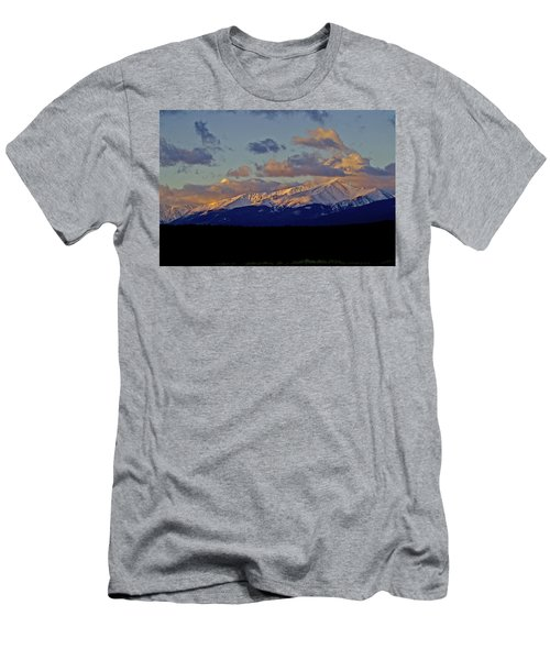 Mt Elbert Sunrise Men's T-Shirt (Athletic Fit)