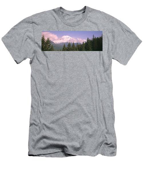 Mt Ranier Mt Ranier National Park Wa Men's T-Shirt (Athletic Fit)