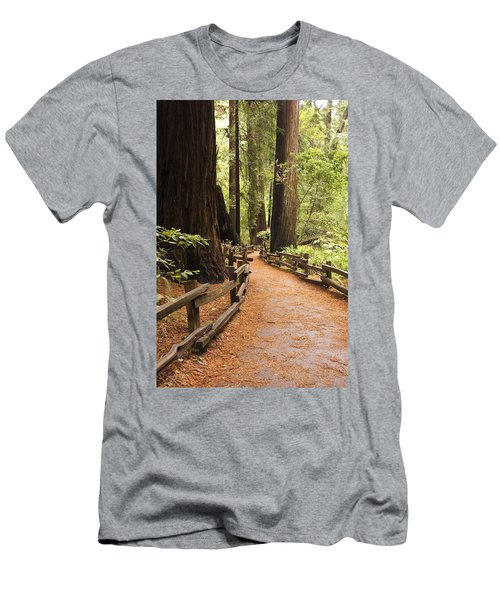 Muir Woods Trail Men's T-Shirt (Athletic Fit)