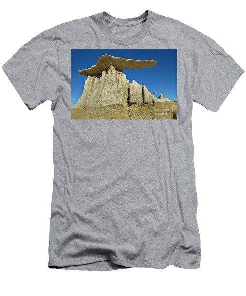 Mushroom Hoodos Bisti Wilderness Men's T-Shirt (Athletic Fit)