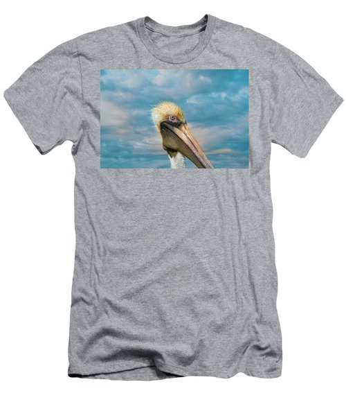 My Better Side - Florida Brown Pelican Men's T-Shirt (Athletic Fit)