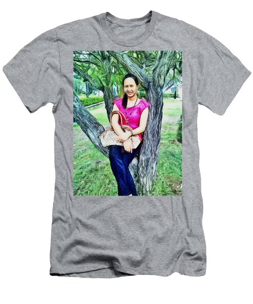 My Lovely Wife Men's T-Shirt (Athletic Fit)