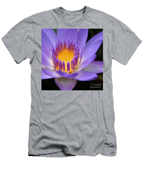 My Soul Dressed In Silence Men's T-Shirt (Slim Fit) by Sharon Mau