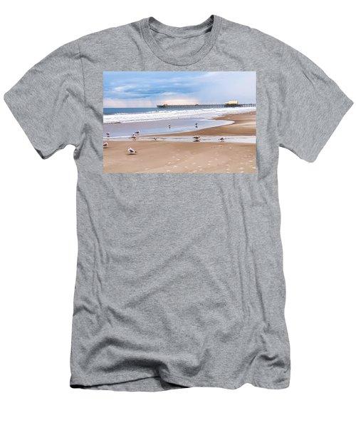 Myrtle Beach - Rainy Day Men's T-Shirt (Athletic Fit)