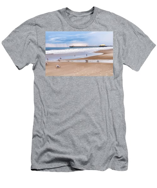 Myrtle Beach - Rainy Day Men's T-Shirt (Athletic Fit)
