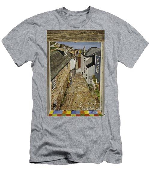 Myrtle Cottage View Men's T-Shirt (Athletic Fit)