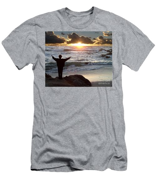 Namaste The Day Men's T-Shirt (Athletic Fit)