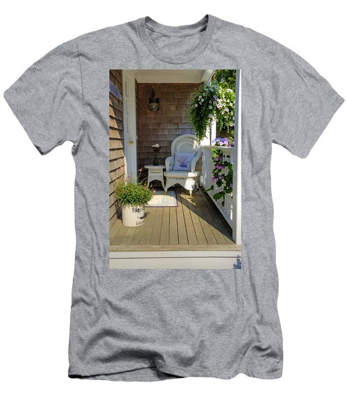Nantucket Porch Men's T-Shirt (Athletic Fit)