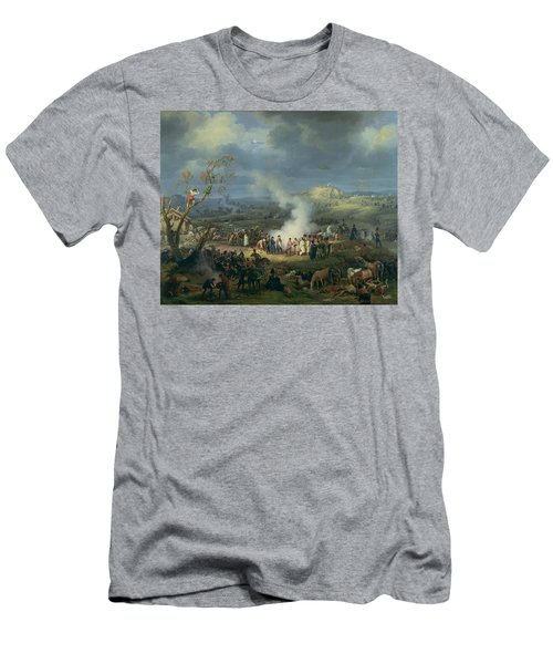 Napoleon 1769-1821 Visiting A Bivouac On The Eve Of The Battle Of Austerlitz, 1st December 1805 Men's T-Shirt (Athletic Fit)