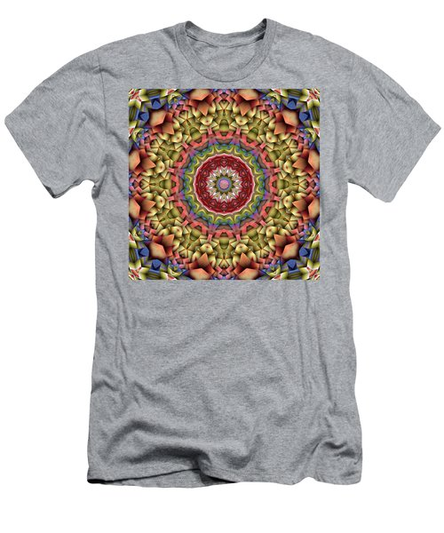 Natural Attributes 10 Square Men's T-Shirt (Slim Fit) by Wendy J St Christopher
