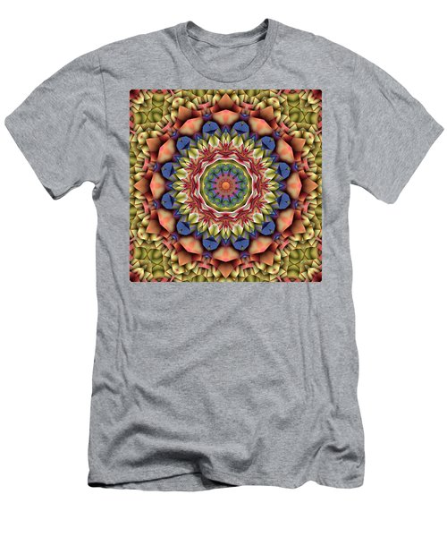 Natural Attributes 12 Square Men's T-Shirt (Slim Fit) by Wendy J St Christopher