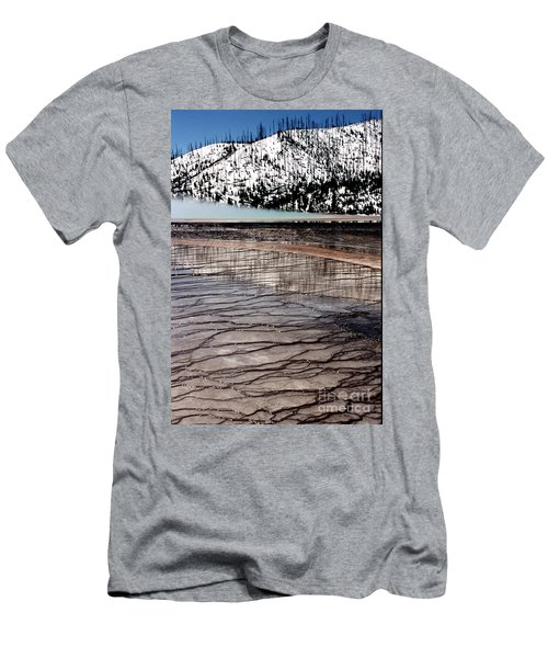 Men's T-Shirt (Slim Fit) featuring the photograph Nature's Mosaic II by Sharon Elliott