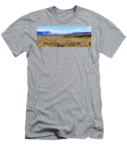 Near Chama New Mexico Men's T-Shirt (Athletic Fit)