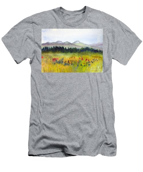 Nek Mountains And Meadows Men's T-Shirt (Athletic Fit)