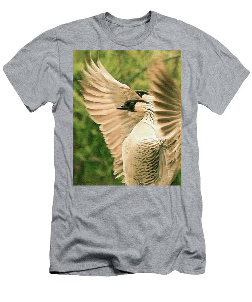 Nene Goose Men's T-Shirt (Athletic Fit)
