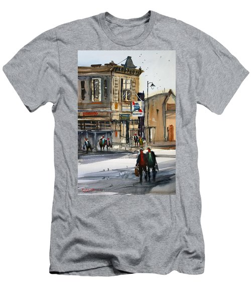 Neshkoro Tavern Men's T-Shirt (Slim Fit) by Ryan Radke