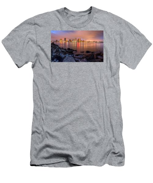 Men's T-Shirt (Slim Fit) featuring the photograph New Orleans Skyline by Tim Stanley