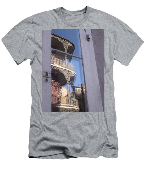 New Orleans Window Men's T-Shirt (Athletic Fit)
