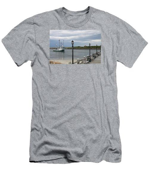 New Species Head Back Men's T-Shirt (Slim Fit) by Christiane Schulze Art And Photography