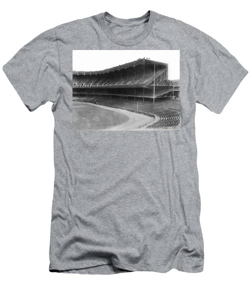New Yankee Stadium Men's T-Shirt (Slim Fit) by Underwood Archives