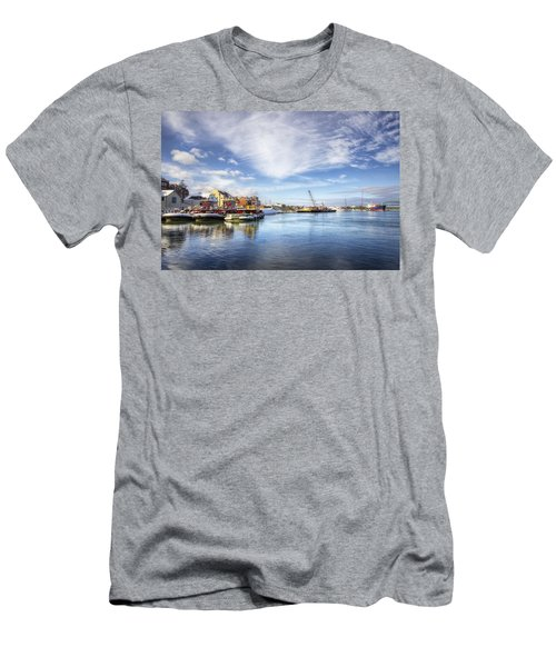 New Years In Portsmouth Nh Men's T-Shirt (Athletic Fit)