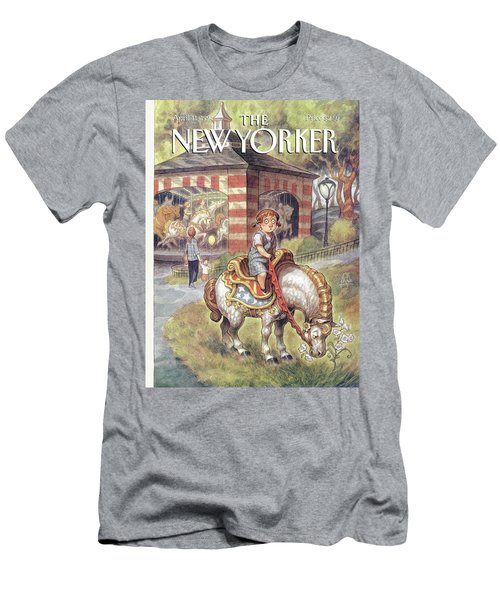 New Yorker April 11th, 1994 Men's T-Shirt (Athletic Fit)