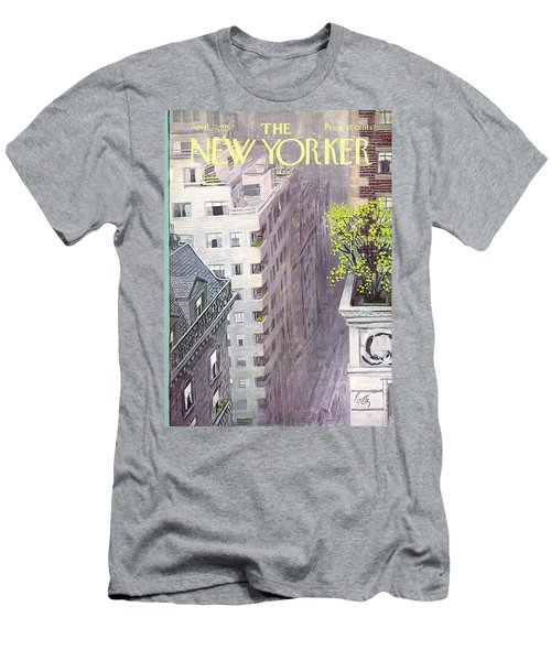 New Yorker April 22nd, 1967 Men's T-Shirt (Athletic Fit)