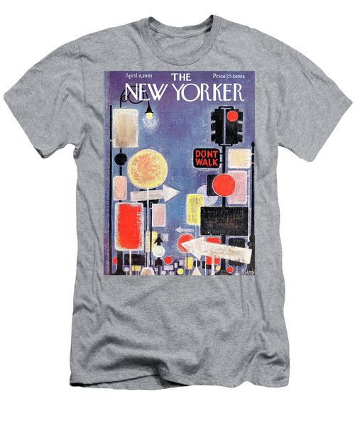 New Yorker April 8th, 1961 Men's T-Shirt (Athletic Fit)