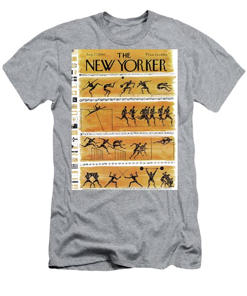 New Yorker August 27th, 1960 Men's T-Shirt (Athletic Fit)