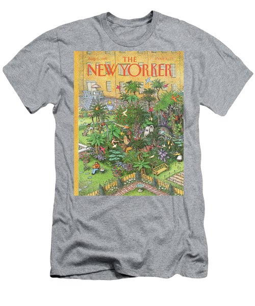 New Yorker August 5th, 1991 Men's T-Shirt (Athletic Fit)