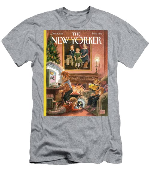 New Yorker December 16th, 1996 Men's T-Shirt (Athletic Fit)