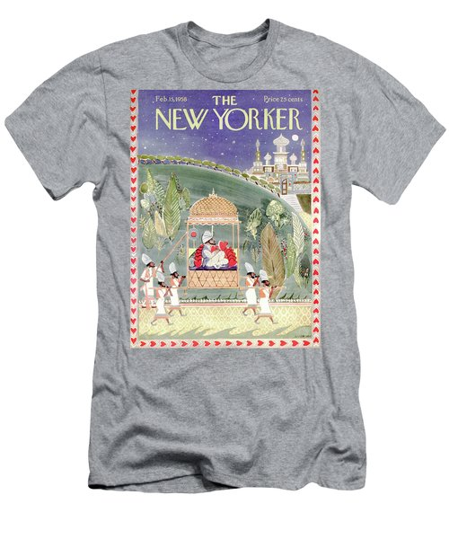 New Yorker February 15th, 1958 Men's T-Shirt (Athletic Fit)