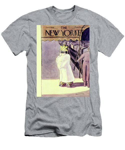 New Yorker January 11 1936 Men's T-Shirt (Athletic Fit)