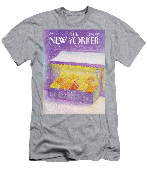 New Yorker January 12th, 1981 Men's T-Shirt (Athletic Fit)