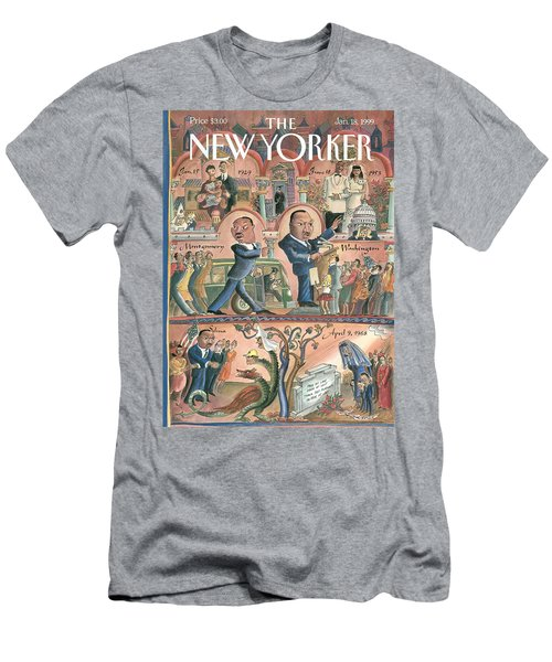 New Yorker January 18th, 1999 Men's T-Shirt (Athletic Fit)