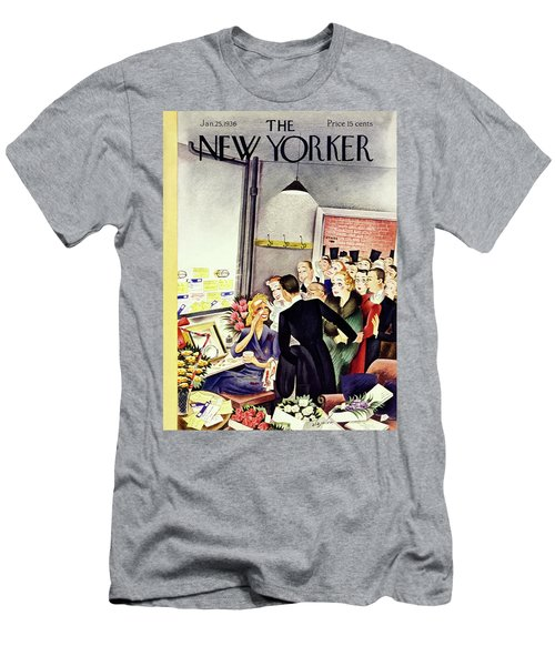 New Yorker January 25 1936 Men's T-Shirt (Athletic Fit)