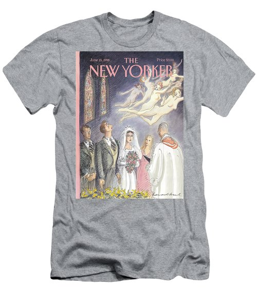 New Yorker June 15th, 1998 Men's T-Shirt (Athletic Fit)