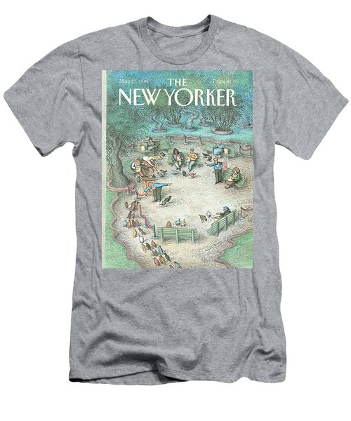 New Yorker May 27th, 1991 Men's T-Shirt (Athletic Fit)