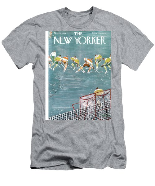 New Yorker November 21st, 1959 Men's T-Shirt (Athletic Fit)
