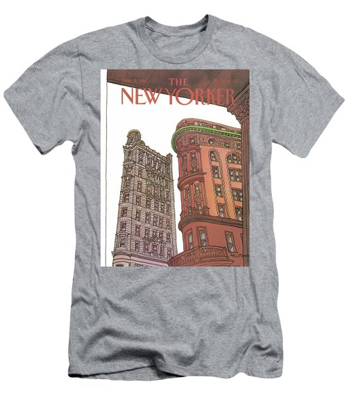 New Yorker November 9th, 1981 Men's T-Shirt (Athletic Fit)