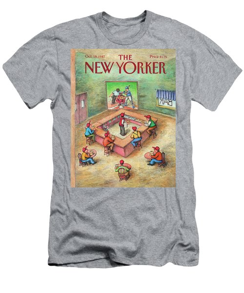 New Yorker October 19th, 1987 Men's T-Shirt (Athletic Fit)