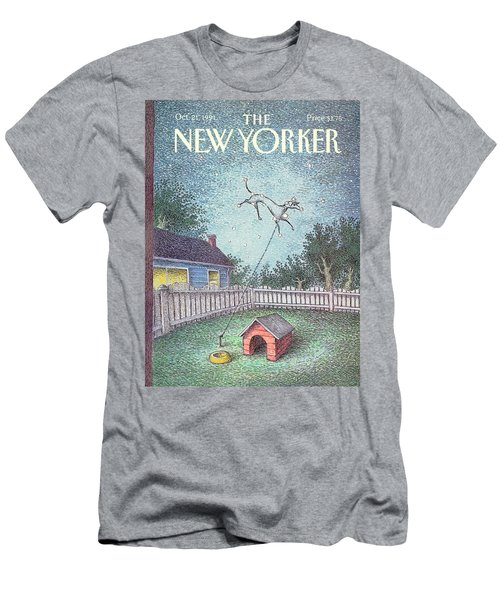 New Yorker October 21st, 1991 Men's T-Shirt (Athletic Fit)