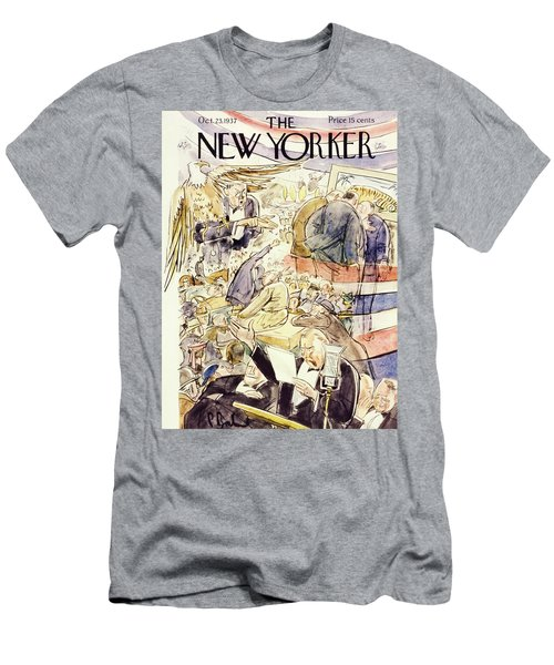 New Yorker October 23 1937 Men's T-Shirt (Athletic Fit)